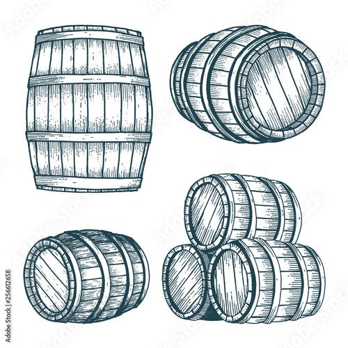 Canvas Print Barrel