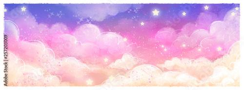 fondo de cielo magico