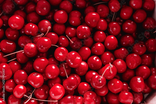 Fotografia sweet cherries