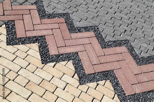 Obraz na płótnie Pavement texture
