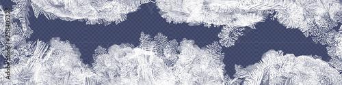 Fotografia Frost glass pattern