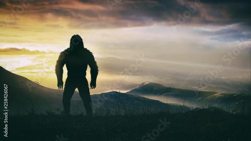 Fotografie, Obraz Bigfoot