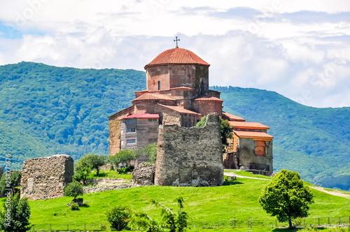 Obraz na plátně Ancient Jvari Monastery (sixth century) in Mtskheta, Georgia