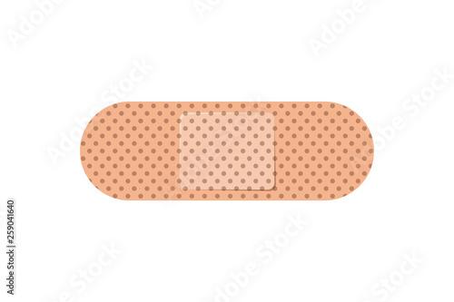 cure bandages isolated icon Fototapete