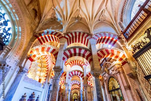 Valokuvatapetti Cordoba - Cathedral Mezquita, Andalusia, Spain