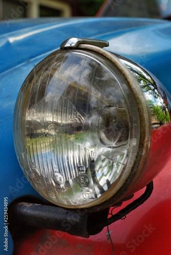 Fotografija Car headlight Citroen 2CV