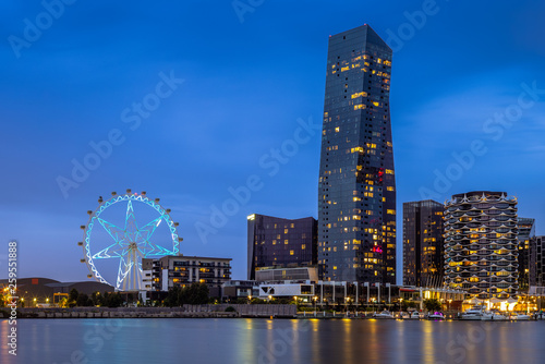 Fototapeta premium Melbourne City Business District (CBD), Australia