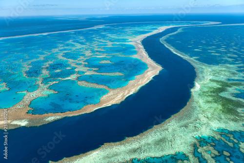 The Great Barrier Reef. Whitsunday Australia Fototapeta