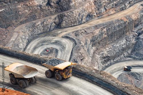 Canvas Print The Big Pit Gold Mine in Kalgoorlie, Western Australia