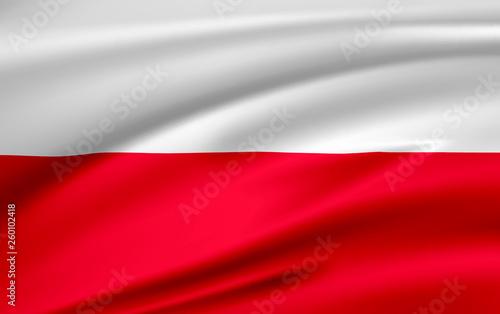 Wallpaper Mural Flag Poland, Republic of Poland