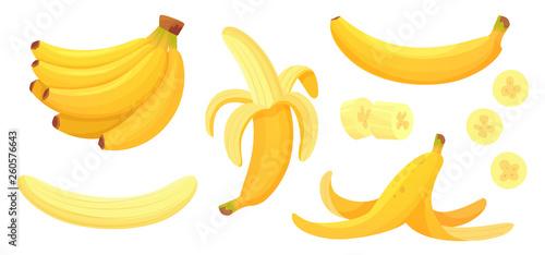 Cuadros en Lienzo Cartoon bananas