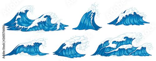 Obraz na plátně Ocean waves
