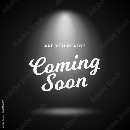 Canvas Print Mystery product coming soon poster background