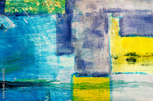 detail of  artistic abstract oil painted background, modern pop art made in oil on canvas in the style of Piet Mondrian