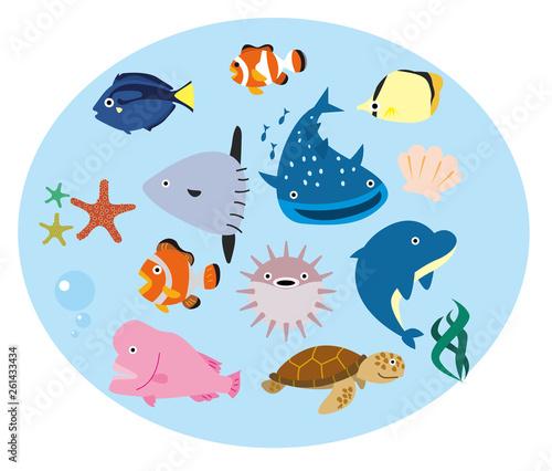 Canvastavla 魚