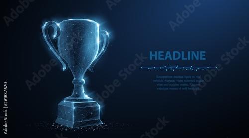 Fotografie, Obraz Trophy cup