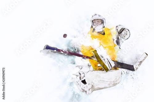 Photo Ice hockey Goalkeeper