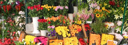 Façade de fleuriste