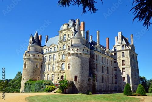 Fotografía The Chateau de Brissac is the highest castle in Loire castles