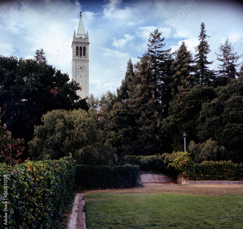 Fotografiet Sather Tower, Berkeley California