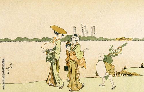Obraz na plátně Japan art