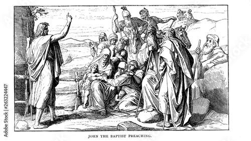 Photo Christian illustration. Old image