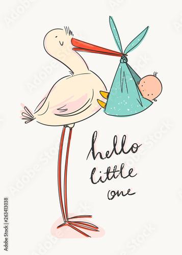 Fotografia Hello little one