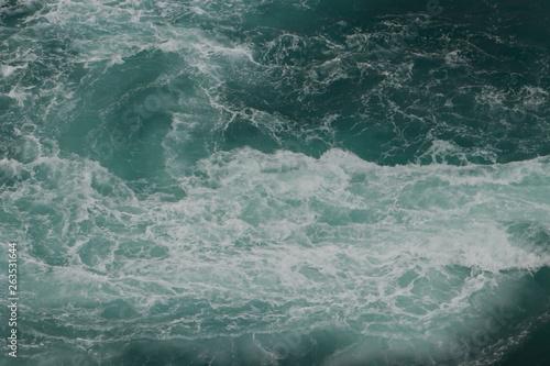 Whirlpools of the maelstrom of Saltstraumen, Nordland, Norway Fototapeta