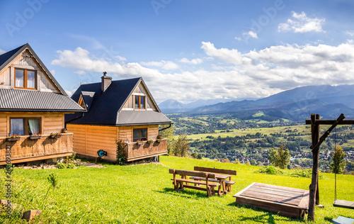 Tatry Mountains and Zakopane city surroundings Fototapeta