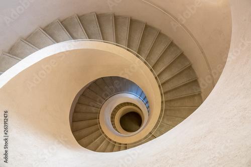 Fényképezés typical modern stone staircase