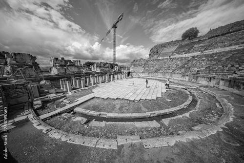 City of Ephesus Turkey Fototapet