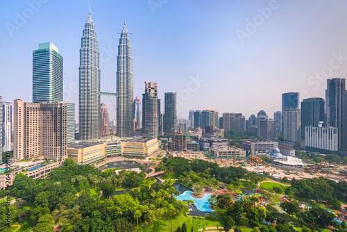 Canvas Print Kuala Lumpur, Malaysia City Center skyline.