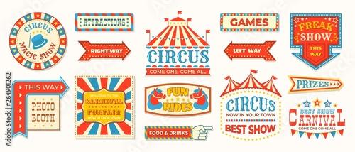 Foto Circus labels