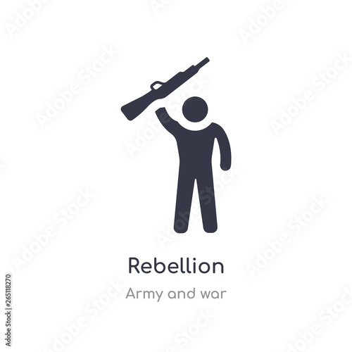 Fotografie, Obraz rebellion icon