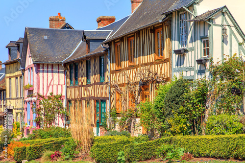 Carta da parati The village of Le bec hellouin Normandy, France