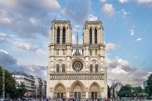 Obraz na plátně Notre Dame