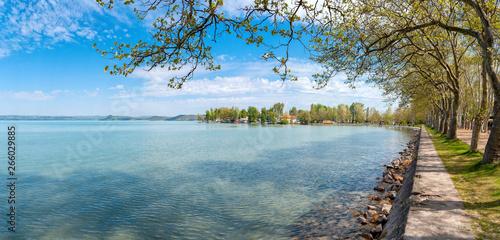 Obraz na plátně Balaton lake - Balatonföldvár - Somogy - Hungary