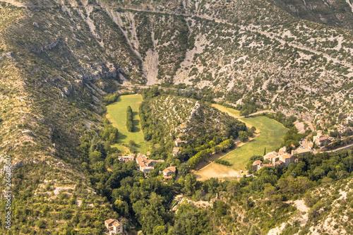 Grand Site of the Circus of Navacelles crop Fototapeta