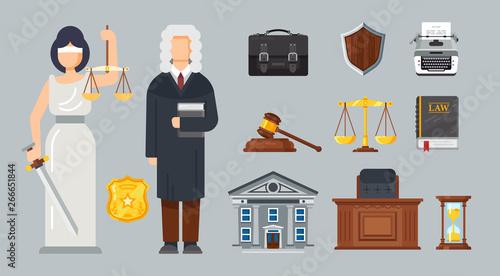 Obraz na płótnie Judicial system