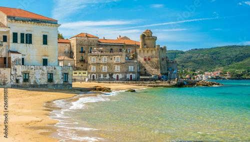 Fotografia The beautiful village of Santa Maria di Castellabate, Cilento, Campania, southern Italy