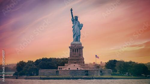 Photo new york statue of liberty