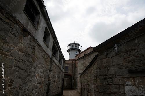 Fotografia old philadelphia abandoned penitentiary