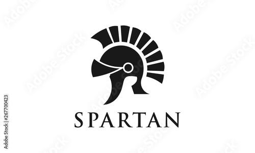 Fotografia Spartan logo design