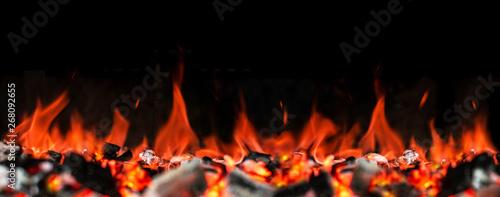 Fotografija Ultra XXL | Grill Glut Feuer Panorama