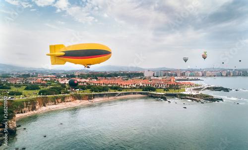 Canvas Print Hot air ballons