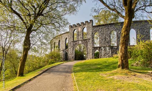 Fotografia The McCaig's Tower in Oban in Scotland