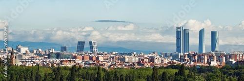 Madrid rooftop view Fototapeta