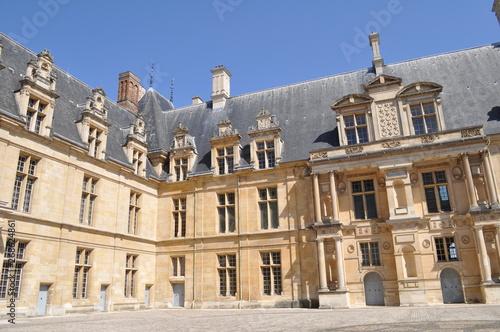Canvas Print Château d'Ecouen