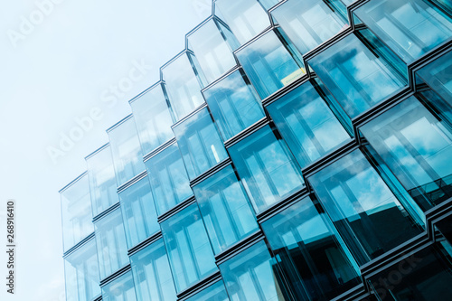 Obraz na plátne modern  architecture, office building glass facade