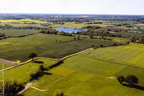 Aerial view of Essex фототапет